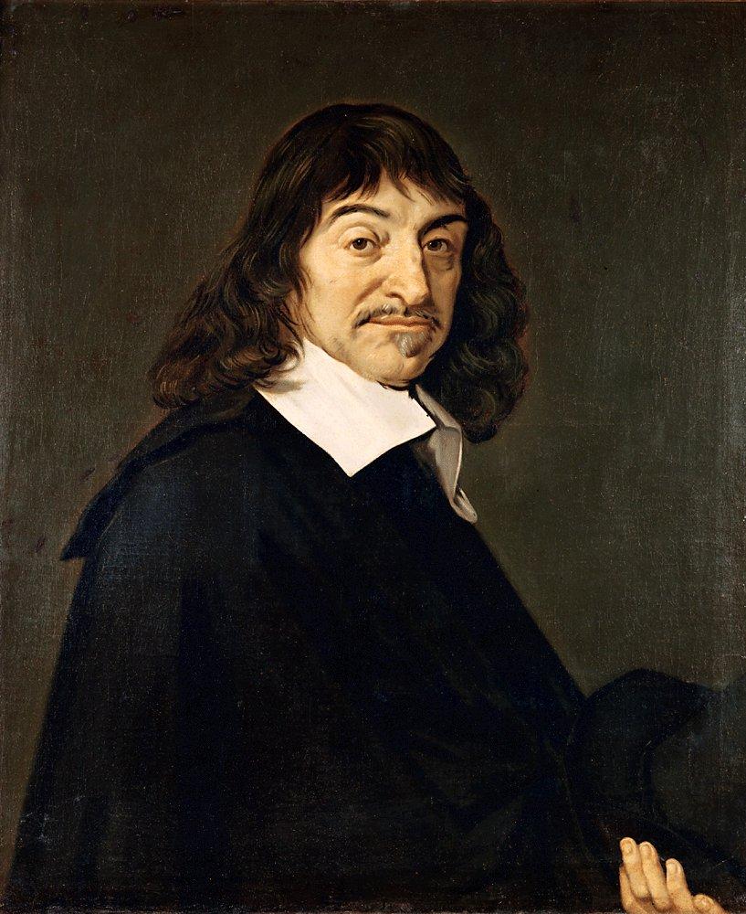 Frans Hals - Portræt af René Descartes